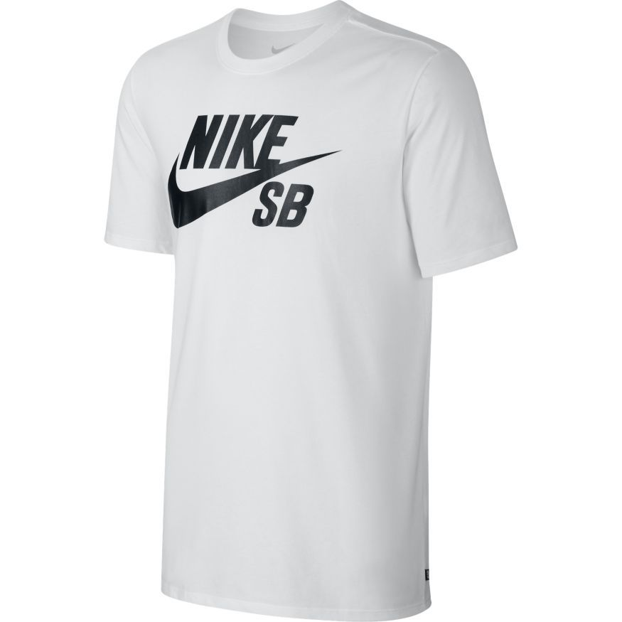 Nike SB Футболка Nike SB Logo White/White/Black XL мужская бейсболка cayler