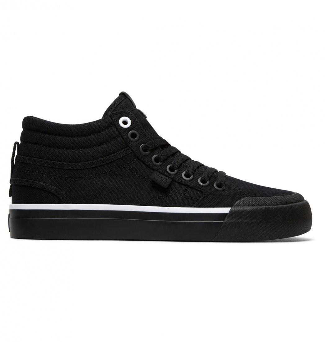 DC SHOES Кеды DC shoes Evan Hi TX BLACK/BLACK/WHITE US 6 кеды кроссовки высокие женские dc rebound hi chambray page 6