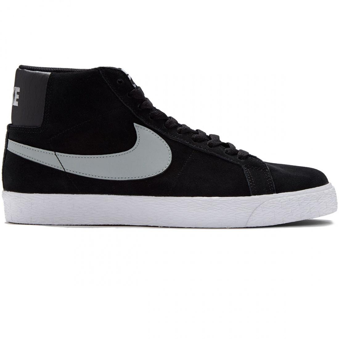 цена Nike SB Кеды Nike SB Blazer SB Premium Se black-base grey-white 9.5 онлайн в 2017 году