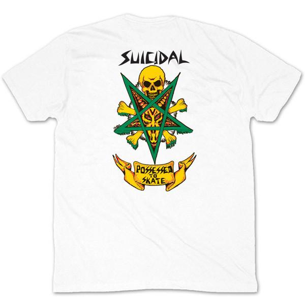 Футболка Dogtown&Suicidal Dogtown&Suicidal Possessed to Skate white L от Boardshop-1
