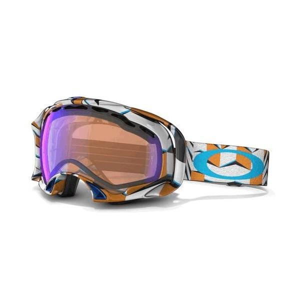Маска для сноубордов Oakley Oakley Splice Cubism Orange Blue Iridium от Boardshop-1