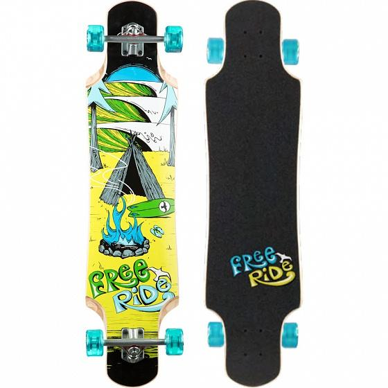 FREERIDE Комплект лонгборд FREERIDE BACKOUNTRY Assorted
