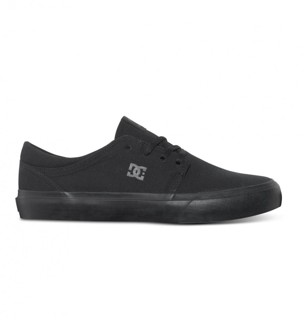 DC SHOES Кеды DC shoes Trase TX Black/Black/Black US 5.5 кеды кроссовки высокие dc council mid tx stone camo