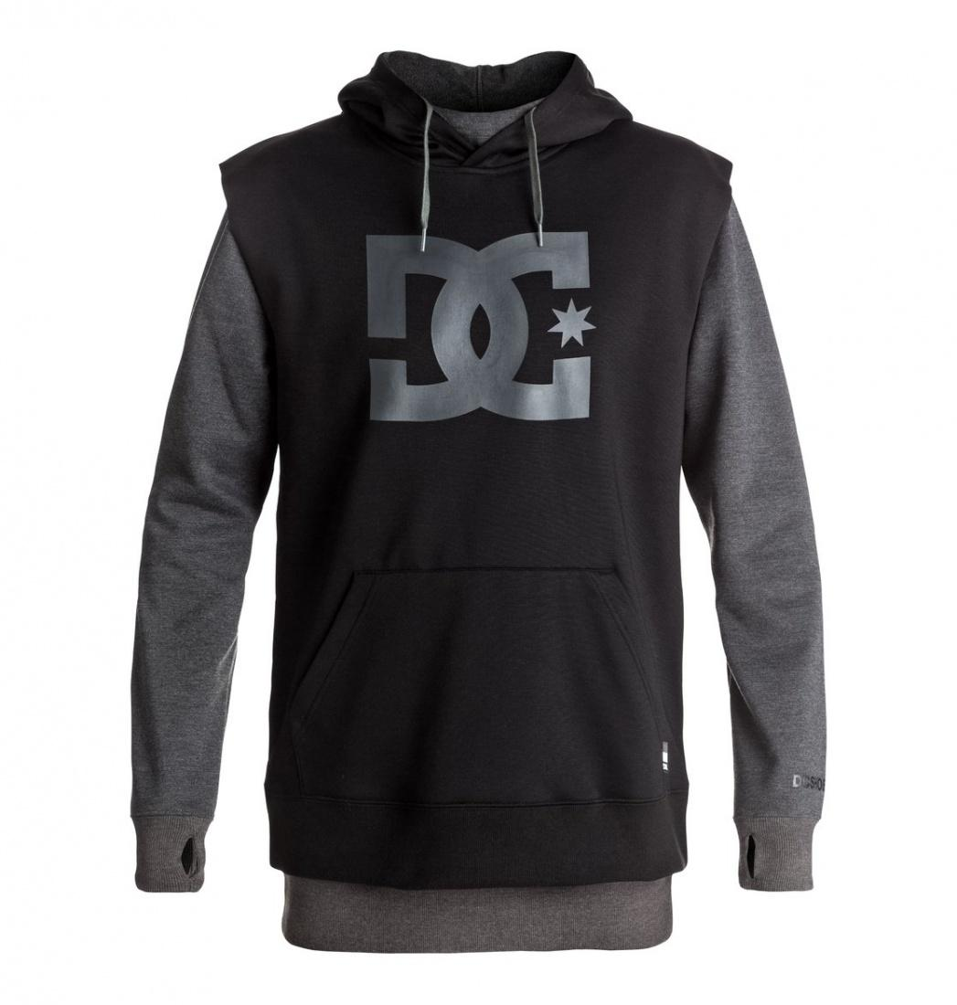 DC SHOES Толстовка DC shoes Dryden DARK SHADOW HEATHER, , FW17 L dc shoes кеды dc heathrow se 11