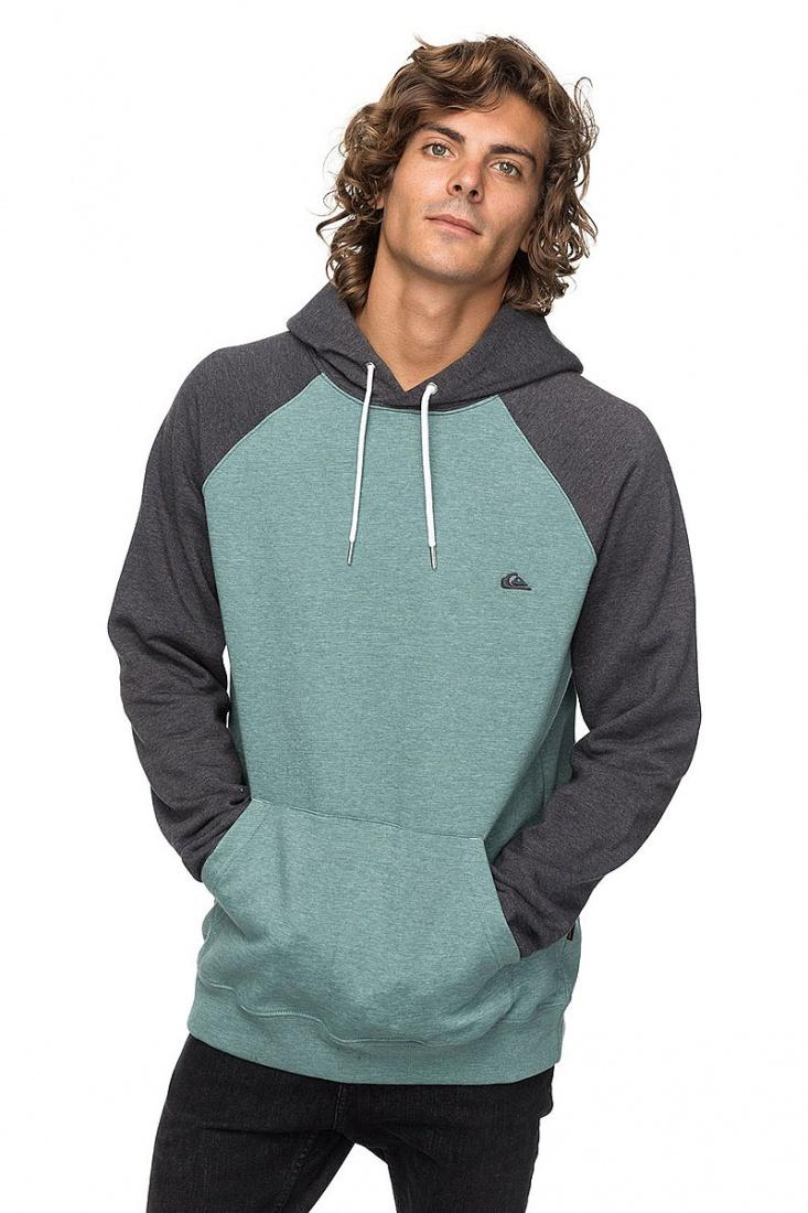 Quiksilver&CO Толстовка Quiksilver Everyday DARK GREY HEATHER XL бомбер quiksilver dark journeys jckt forest night