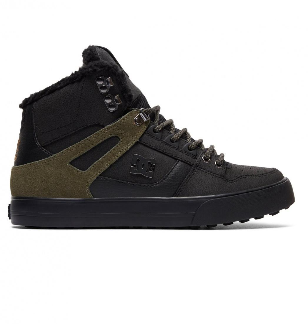 DC SHOES Зимние кеды DC shoes Spartan High WC WNT BLACK OLIVE, , FW17 9 кеды кроссовки высокие dc spartan high wc black tan