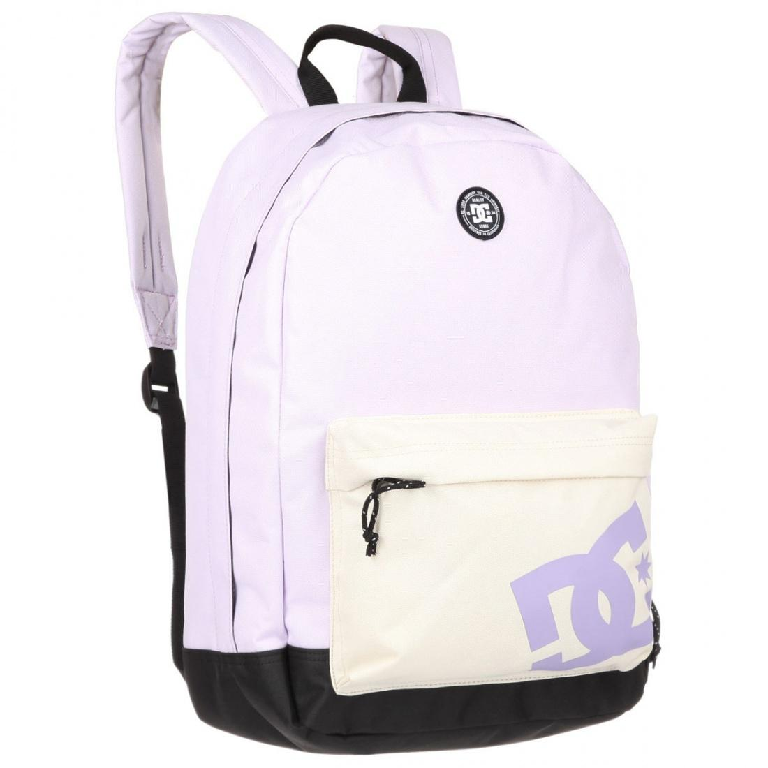 DC SHOES Рюкзак DC shoes Backstack PASTEL LILAC One size dc shoes ремень dc shoes chinook washed indigo fw17 one size
