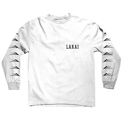 Lakai Футболка Lakai FLARED - L/S WHITE XL бормашина с ножным приводом s s white