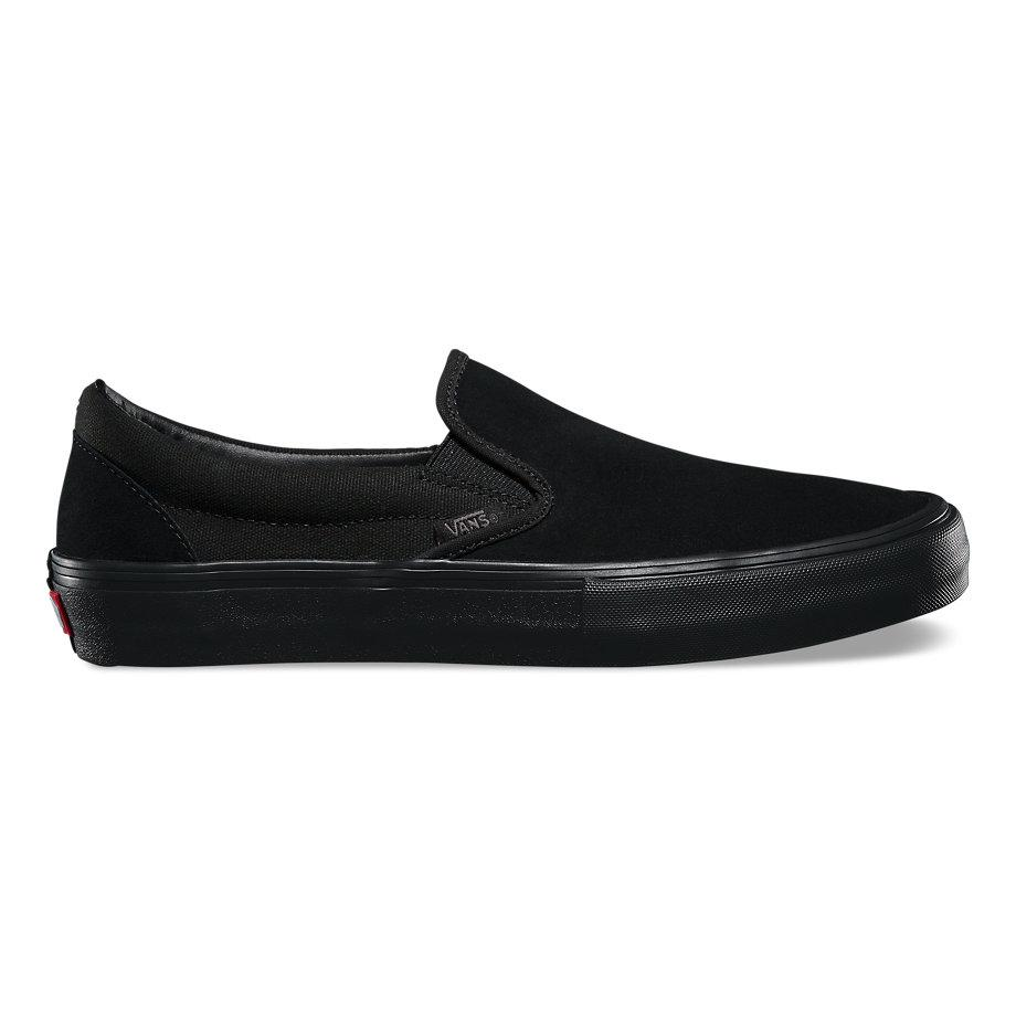 Vans Слипоны Vans Slip On Pro Blackout 9 слипоны женские levis palmdale slip on regular fuchsia