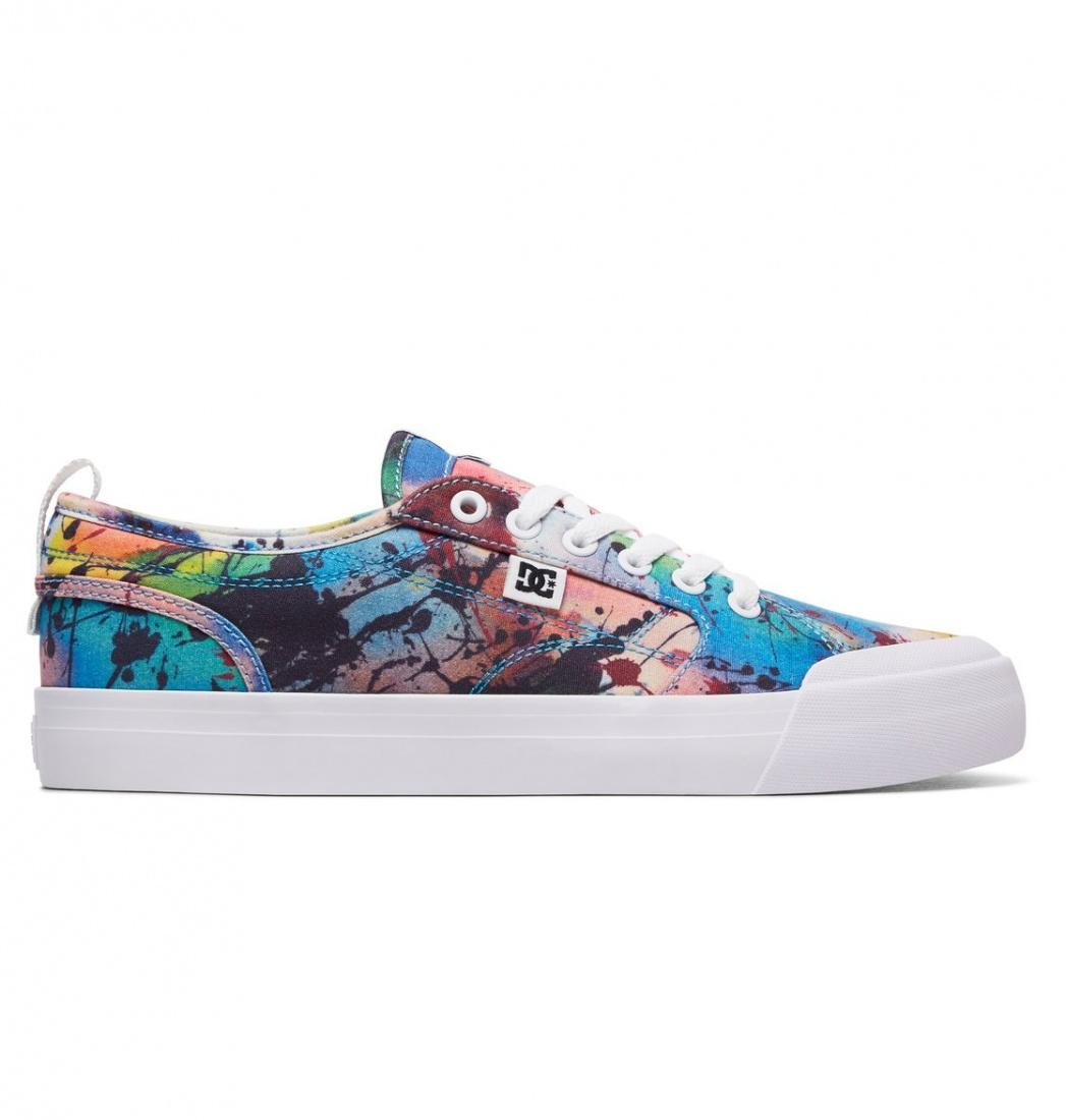 DC SHOES Кеды DC shoes Evan Smith TX SE MULTI US 11 кеды кроссовки высокие dc council mid tx stone camo