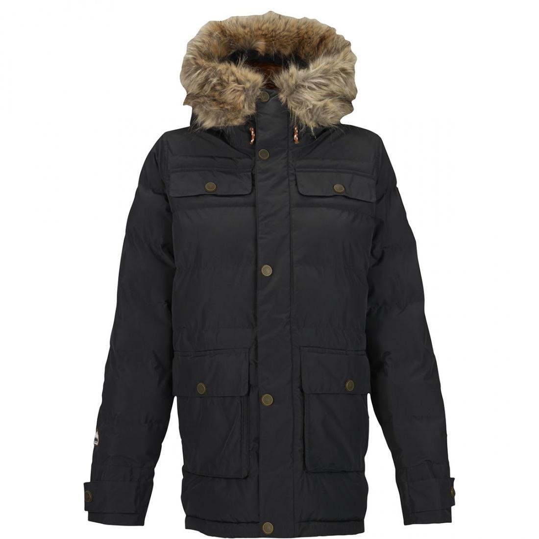 Burton Куртка для сноуборда Burton Essex Puffy TRUE BLACK S hamlet