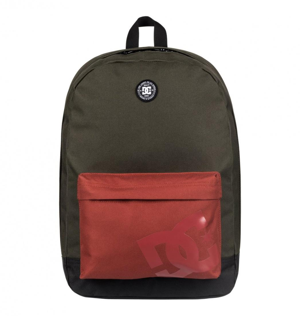 DC SHOES Рюкзак DC shoes Backstack DARK OLIVE, , FW17 бомбер dc hexham dark olive