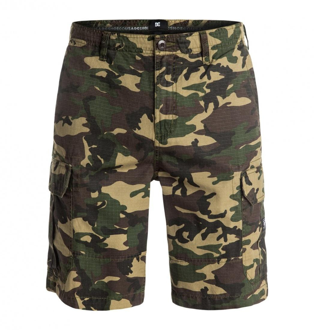 DC SHOES ШОРТЫ DC RPSTP CARGO 21 M WKST KVJ6 МУЖСКИЕ GREEN SURPLUS CAMO 28 dc shoes шорты классические dc evan short wkst pirate black