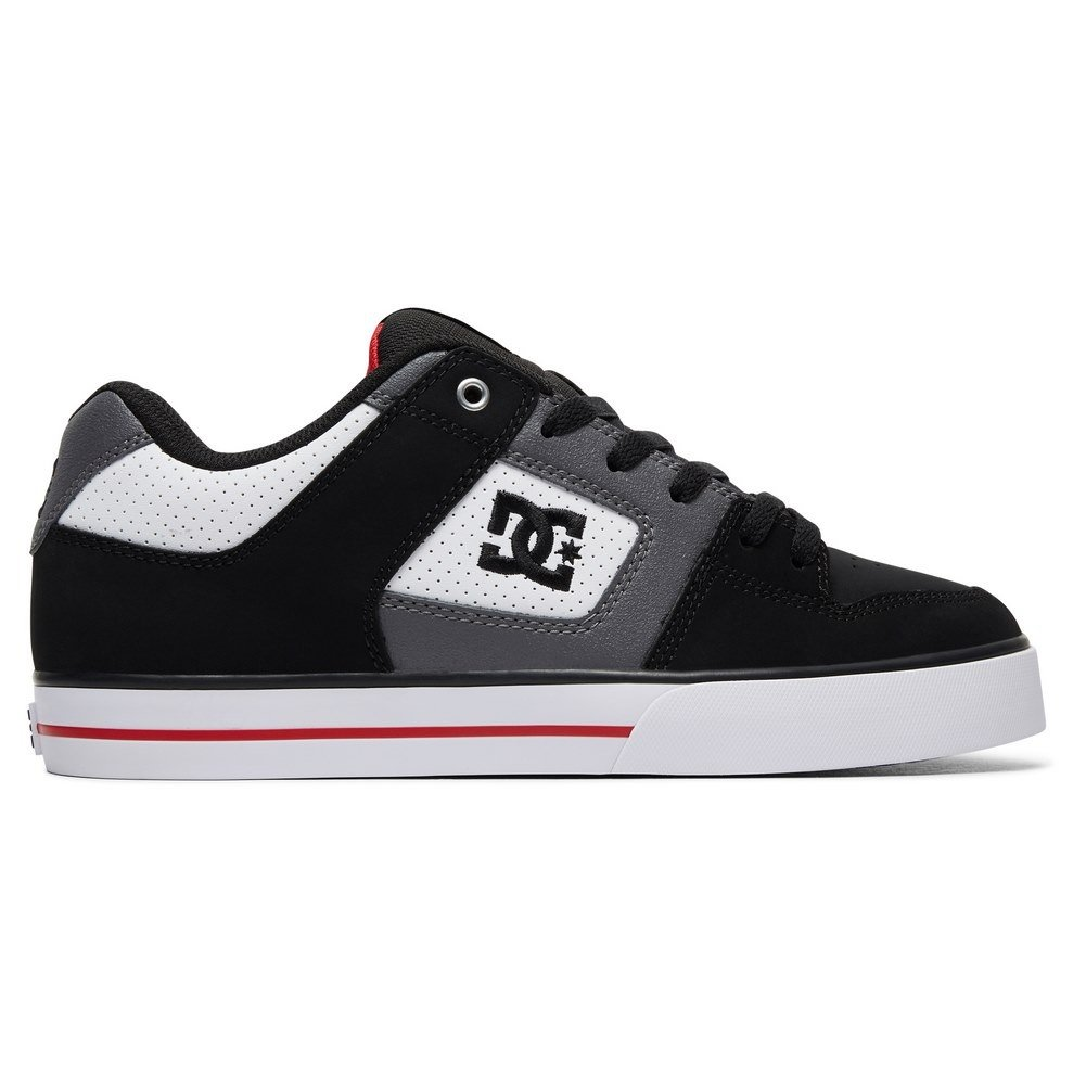 DC SHOES Кеды DC shoes Pure WHITE/BLACK/RED US 12 dc shoes зимние кеды dc shoes evan smith wnt wheat fw17 us 9