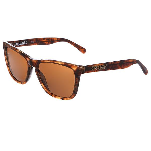 Oakley Очки Oakley Frogskins LX Dark Brown Tortoise w/Dark Bronze