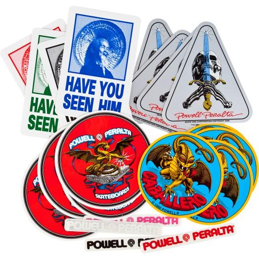 Наклейка Powell Peralta Powell Peralta Assorted Stickers от Boardshop-1
