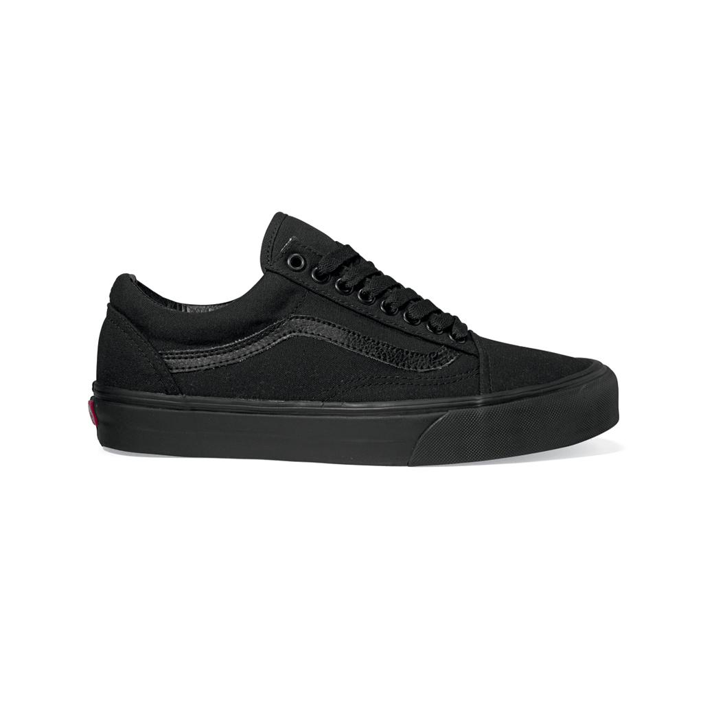 Vans Кеды Old Skool (9, Black/Black, , )