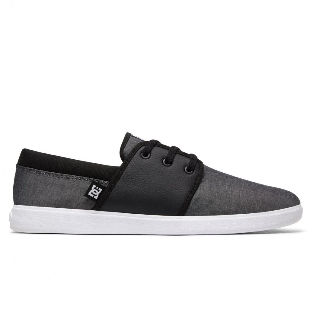 DC SHOES Кеды DC shoes Haven TX SE BLACK/BLACK/GREY US 9