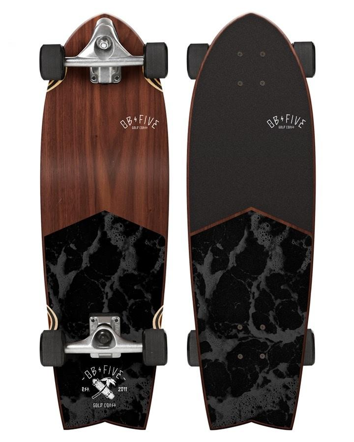 Круизер OBfive Dark Waters Surf Truck