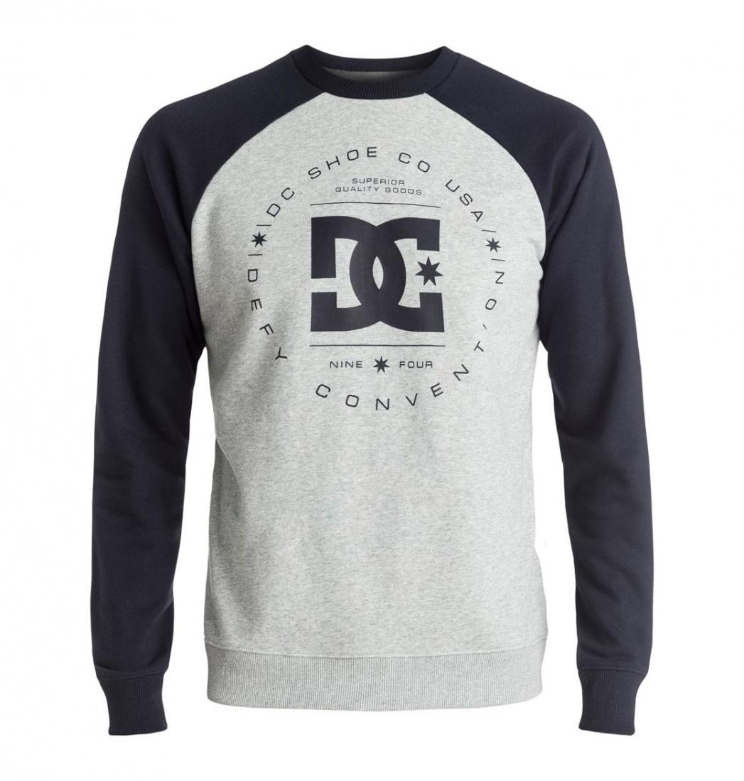 DC SHOES ДЖЕМПЕР DC REBUILT RAGLAN M OTLR XBBS МУЖСКОЙ DARK INDIGO/HEATHER GREY XL рубашка в клетку dc woodale deep dyed heather grey