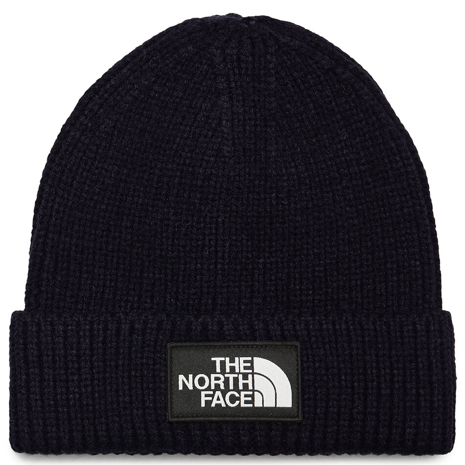 Шапка The North Face Logo Box Cuff URBAN NAVY One size