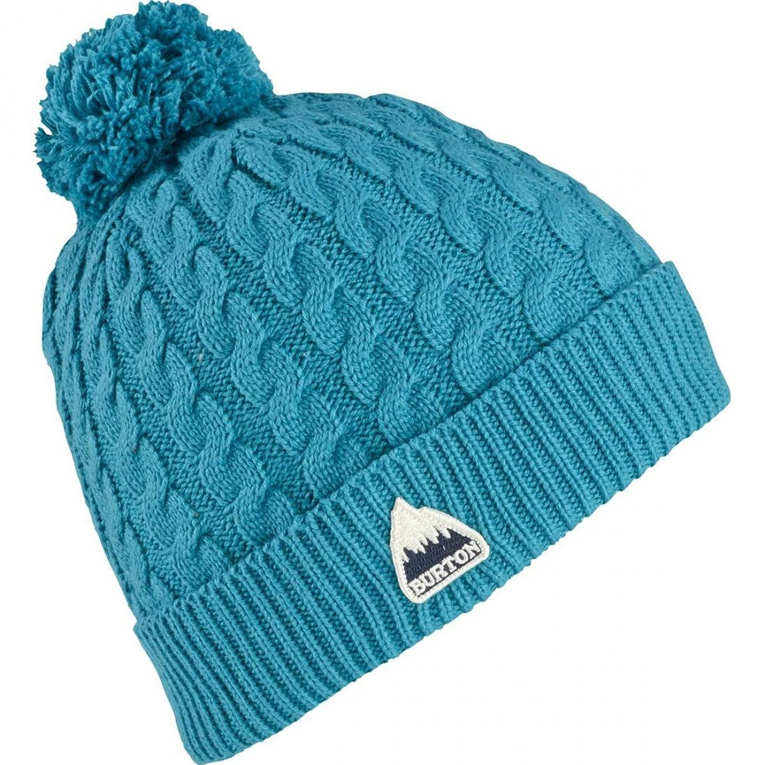 Burton Шапка Burton Mini Cable Beanie LARKSPUR, , , FW18 burton термоноски burton party sock wings fw18 l