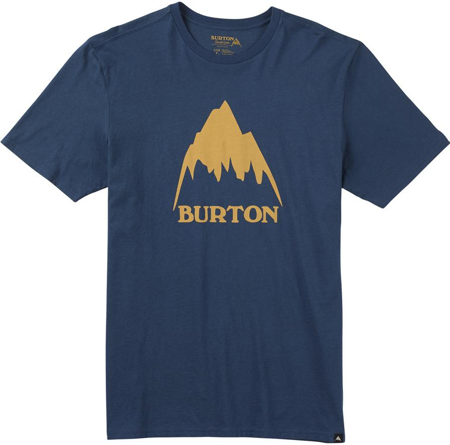 Burton Футболка Burton Clssmtnhgh INDIGO S burton футболка burton deadwood rec heather night rider