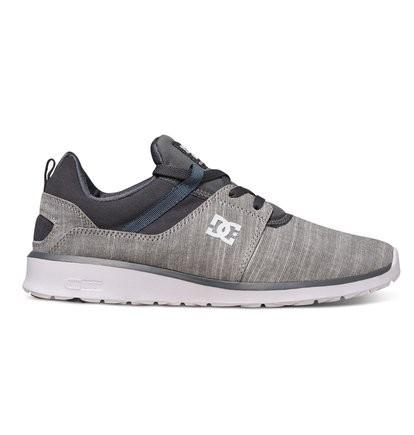 DC SHOES Кроссовки DC shoes Heathrow SE GREY HEATHER 9 кроссовки детские dc heathrow se green grey white