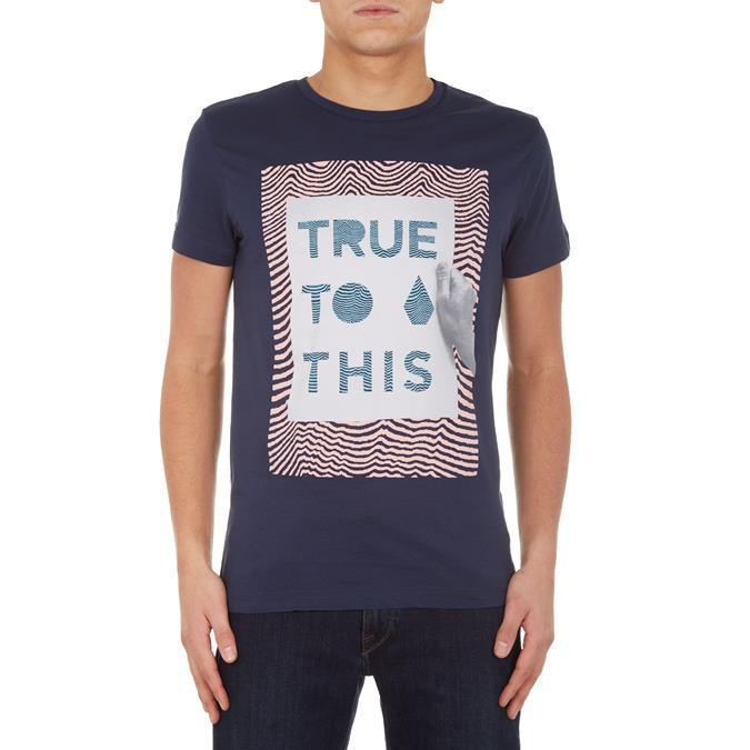 Футболка VOLCOM Volcom True To This Navy S от Boardshop-1