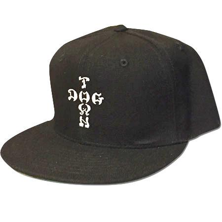 Бейсболка Dogtown&Suicidal Dogtown&Suicidal Hat Snapback Cross Letters Embroidered Black от Boardshop-1