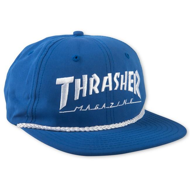 THRASHER Бейсболка Thrasher Rope Snapback Blue One size 3d ручка funtastique one rp400a fp001a blue
