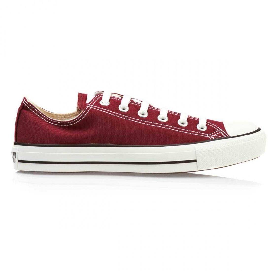 Кеды Converse CONVERSE All Star OX Maroon 42.5 от Boardshop-1