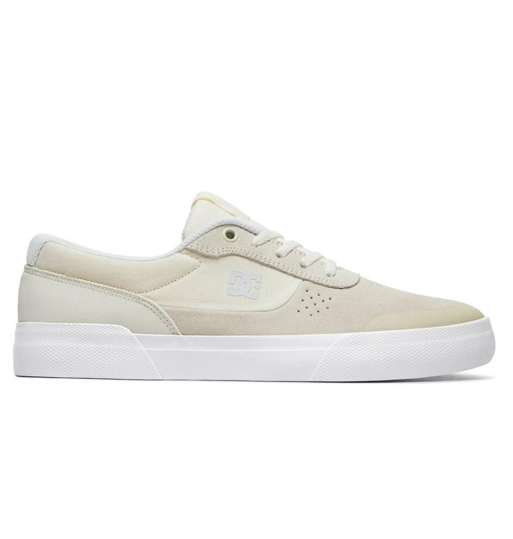 DC SHOES Кеды   Switch Plus  WHITE  8