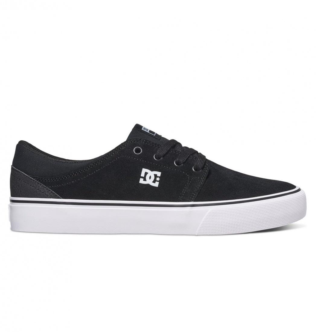 DC SHOES Кеды DC shoes Trase BLACK/WHITE/WHITE US 8 dc shoes кеды dc shoes tonik w j black aqua 8