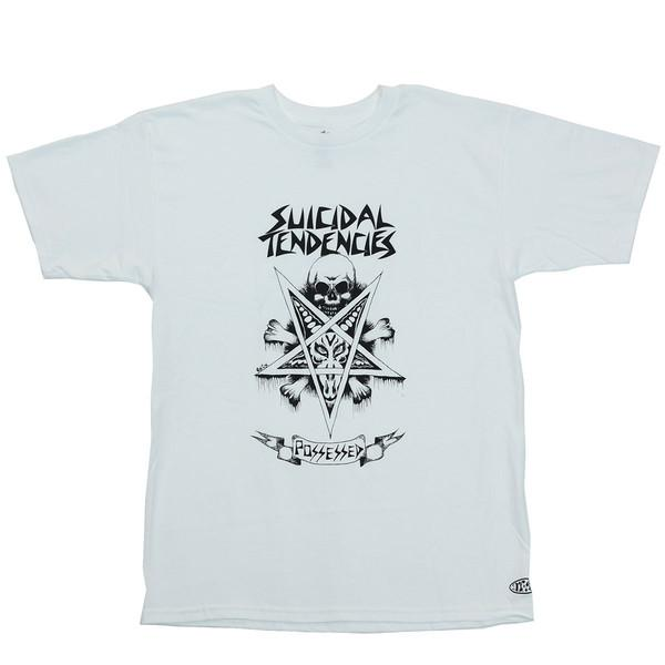 Dogtown&Suicidal Футболка Dogtown&Suicidal Ric Clayton Possessed White XL цена