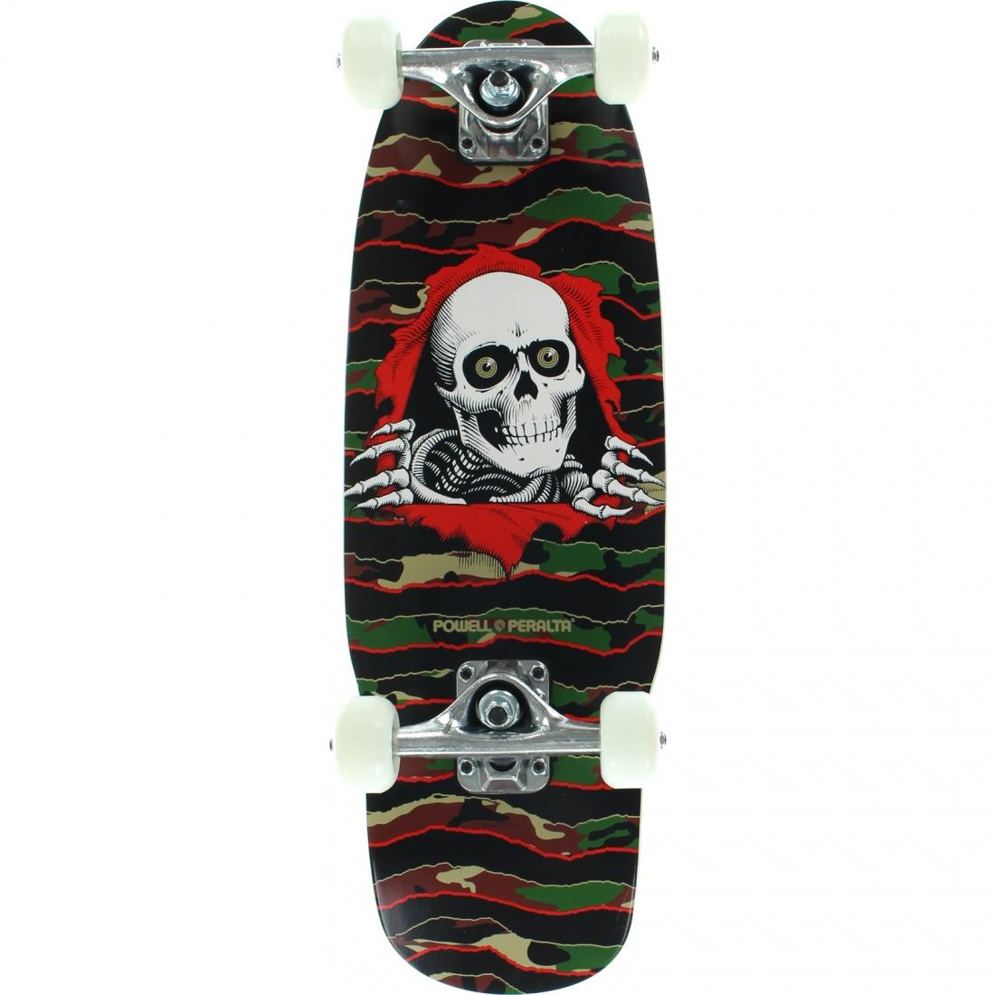 Powell Peralta Скейтборд в сборе Powell Peralta Cab Dragon Cosmic Green 7.5 powell peralta скейтборд в сборе powell peralta micro mini ripper 05 camo 7 5