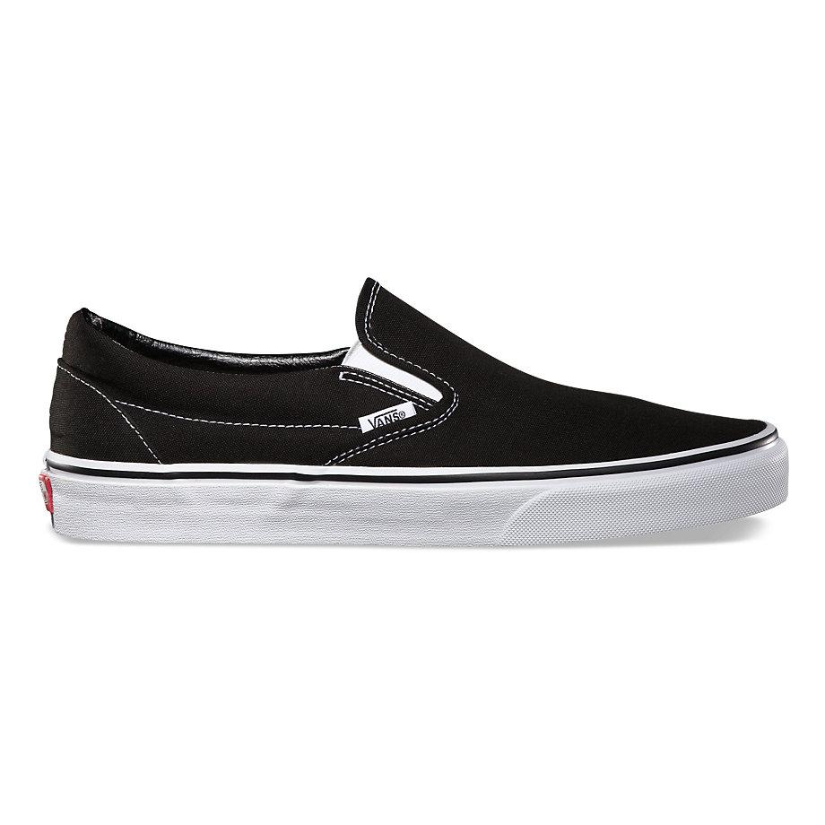 Кеды Vans Vans Classic Slip-On Black 8.5 от Boardshop-1