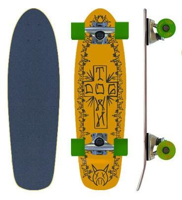 Dogtown&Suicidal Круизер Dogtown&Suicidal Locker Board 7.125