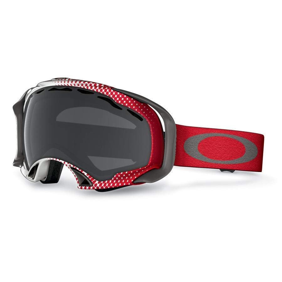 Маска для сноубордов Oakley Oakley Splice Halftone Red w Dark Grey от Boardshop-1