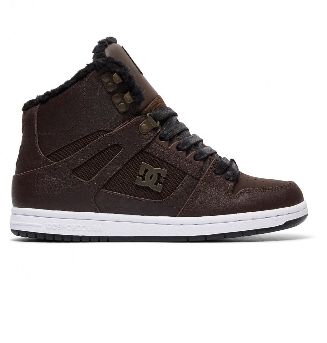 DC SHOES Зимние ботинки DC shoes Rebound High WNT BROWN/CHOCOLATE, , FW17 5.5 dc shoes кеды dc heathrow se 11