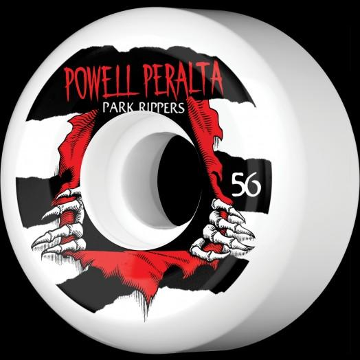 Powell Peralta Колеса для скейтборда Powell Peralta Park Ripper WHITE 56 мм powell peralta скейтборд в сборе powell peralta micro mini ripper 05 camo 7 5