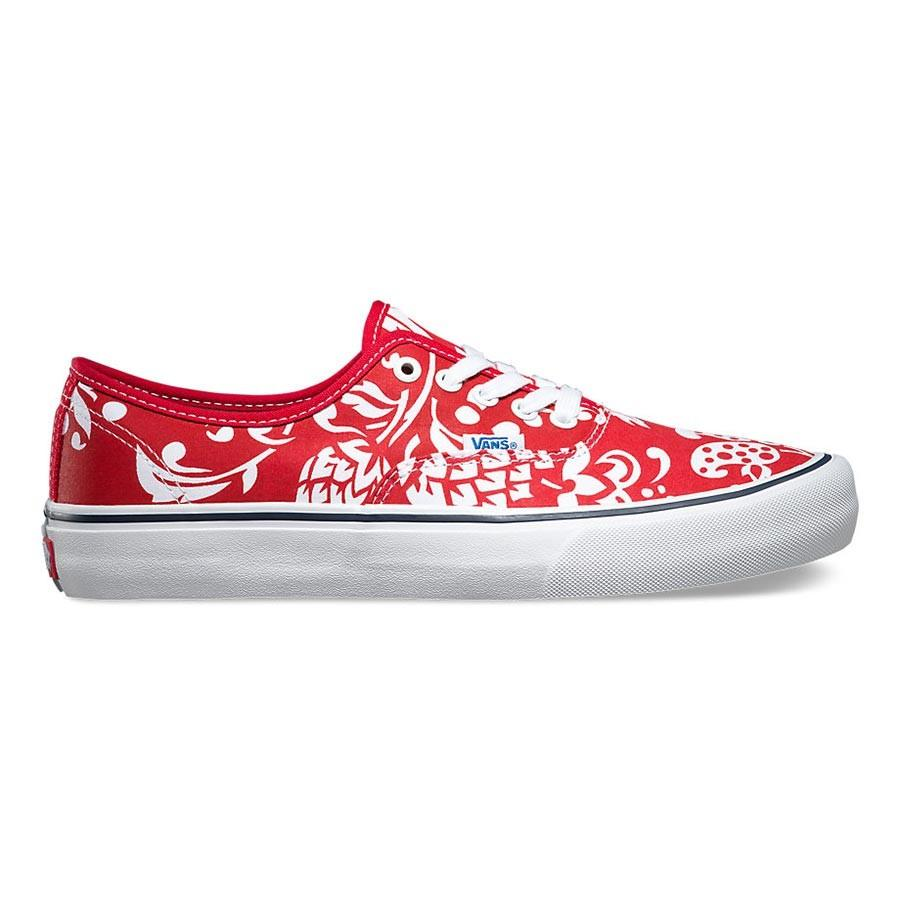 Кеды Authentic Pro(50TH) (10, 66 Duke Red White, , SS16)