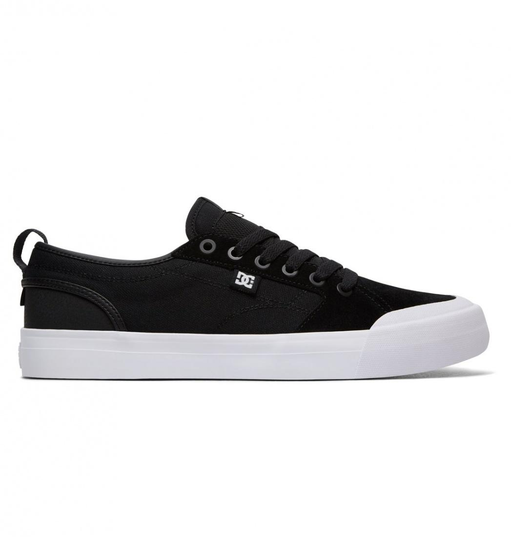 DC SHOES Кеды DC shoes Evan Smith S BLACK/BLACK/WHITE US 8.5 dc shoes кеды dc shoes tonik w j black aqua 8