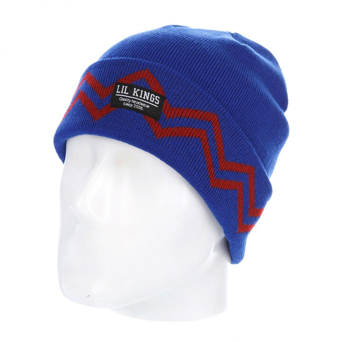 Шапка Lil kings Lil kings Truerap Blue Red от Boardshop-1