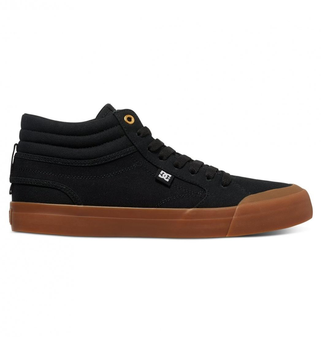 DC SHOES Кеды DC shoes Evansmith HI TX BLACK US 9 кеды кроссовки высокие dc council mid tx stone camo
