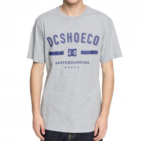 DC SHOES Футболка DC shoes Last Stand GREY HEATHER L dc shoes свитшот dc shoes rebuilt campanula grey heather xl