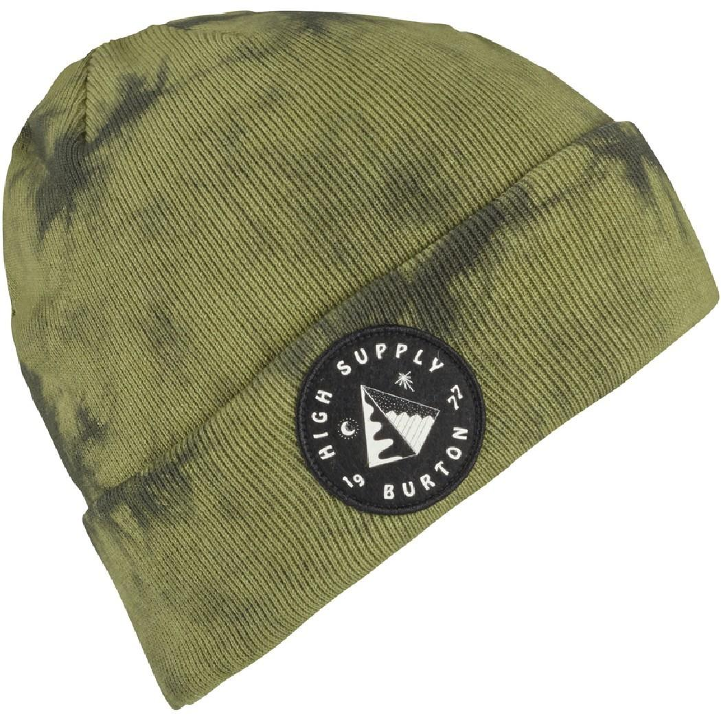 Burton Шапка Burton Tie Dye Beanie FRSTNT/OLVBRH, , , FW18 One size burton парафин burton all season fast wax gray fw18 one size