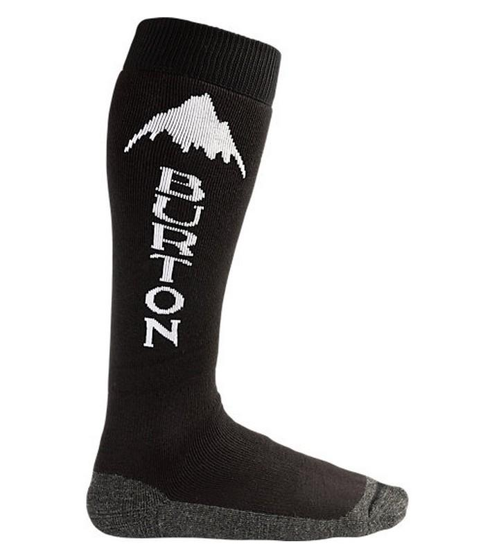 Burton Термоноски Burton Emblem Sock TRUE BLACK, WIN14 M burton термоноски burton party sock wings fw18 l