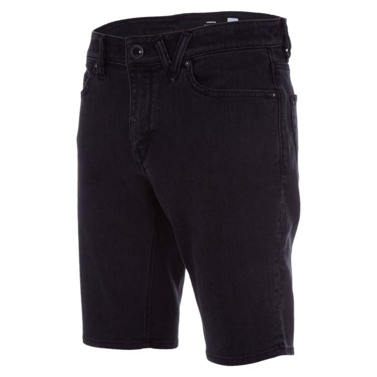 наклейки на сноуборд volcom let it storm stomp black Volcom Шорты Volcom Vorta Denim INK BLACK 34