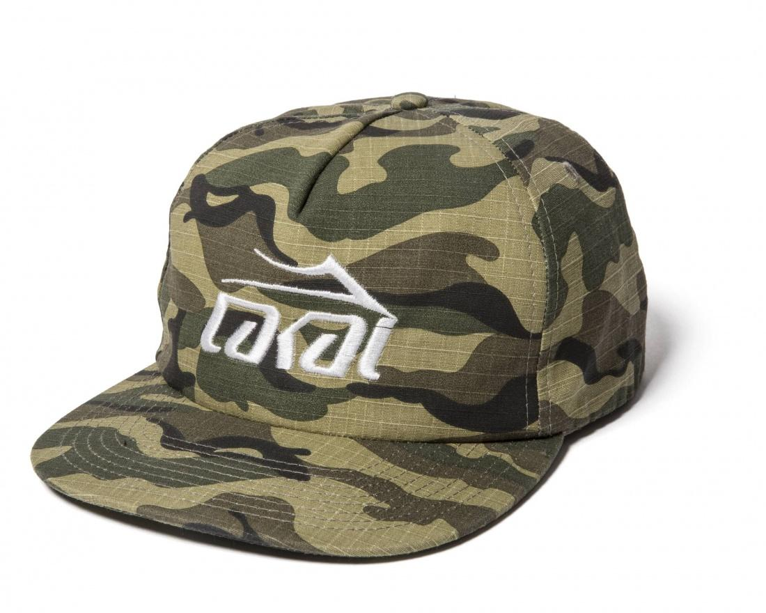 Lakai Бейсболка Lakai Logo Snapback CAMO One size mnkncl 2017 newest us air force one mens baseball cap airsoftsports tactical caps high quality navy seal army camo snapback hats